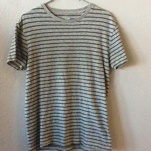 J Crew Nautical Striped Short Sleeve Tee T-Shirt